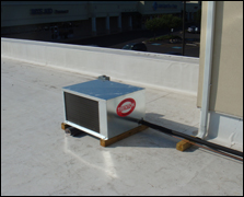roof-top cooling unit