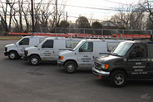 HVAC Technician Trucks
