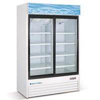 Maxximum Cold MCGDN2SL – Double Door Glass Door Merchandiser