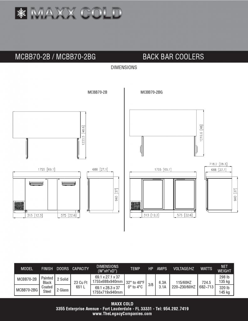 MCBB70-2B--MCBB70-2BG Spec Sheet pg2