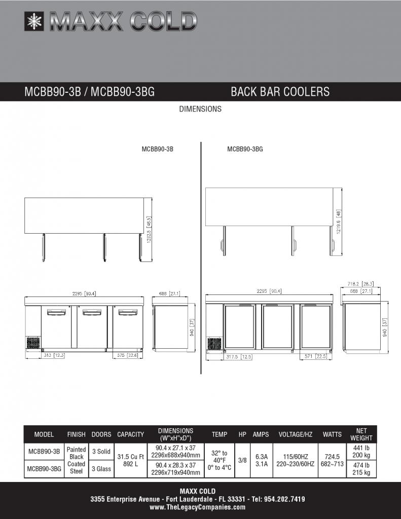 MCBB90-3B--MCBB90-3BG Spec Sheet pg2