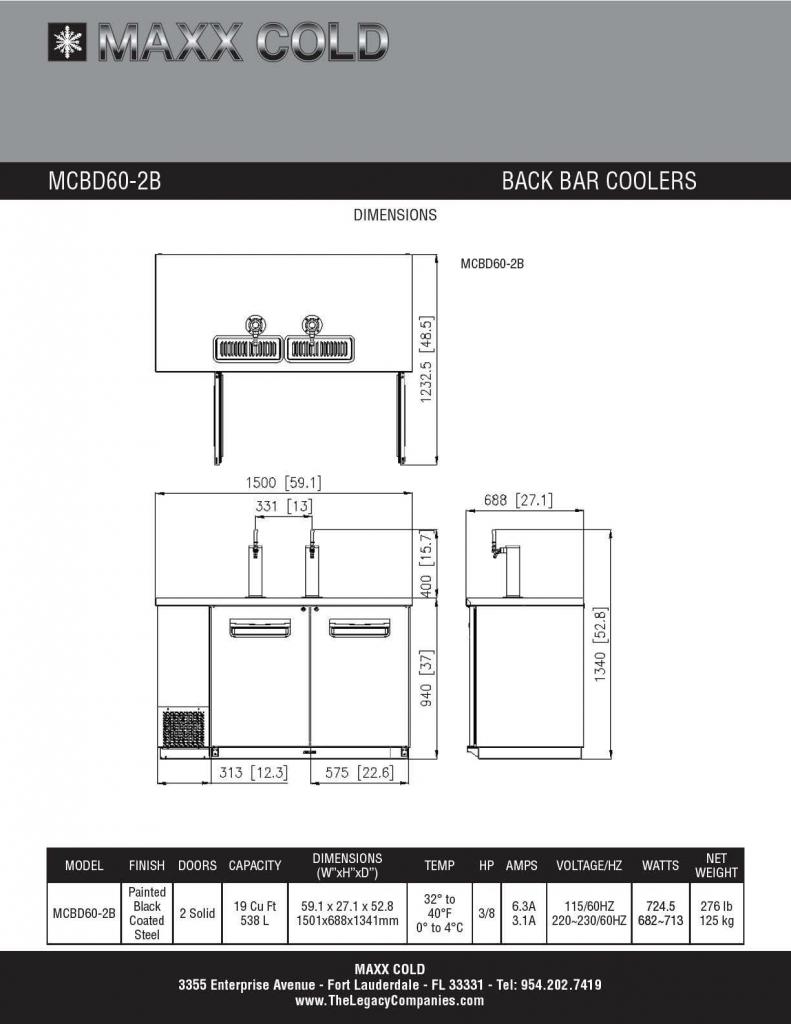 MCBD60-2B Spec Sheet pg2