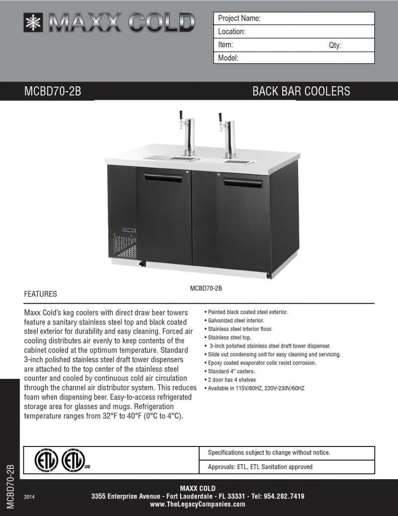 MCBD70-2B Spec pg1