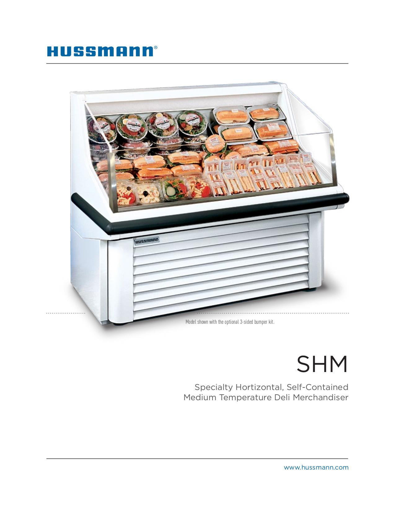 Hussmann Shm 3 M J Mac Inc